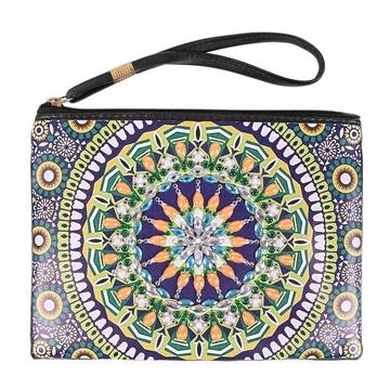 DIY Special Shape Diamond Painting Damen Clutch Damen Wallet Handtasche Bag DE