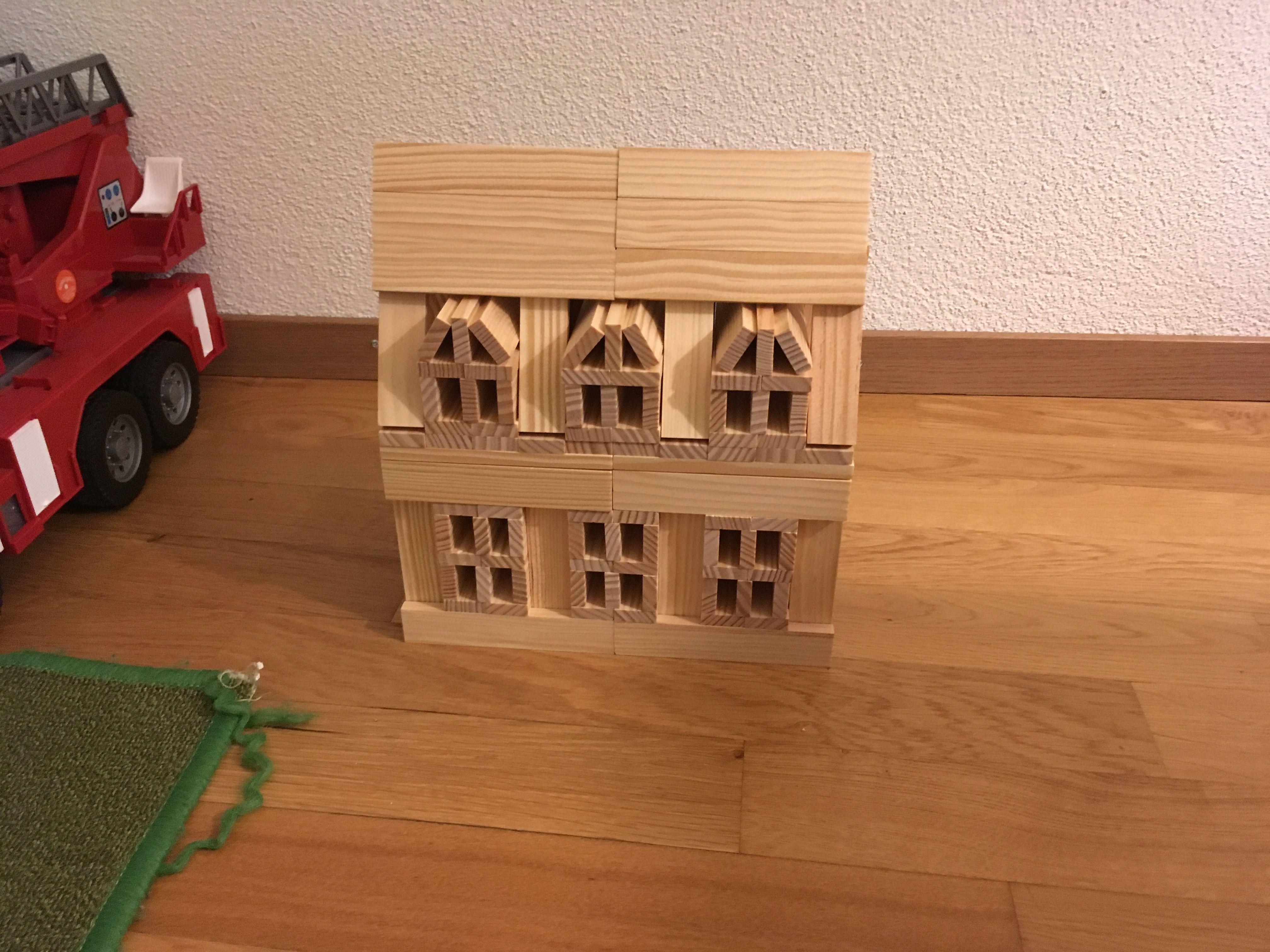 Eichhorn 100001602 Holzbaukasten 200 Teilig