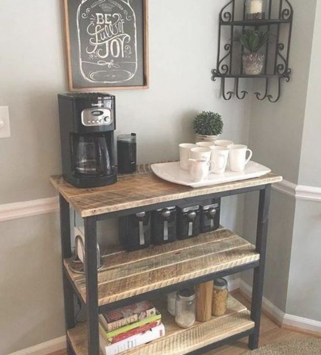 7 Coffee Station Ideas to Perfect Yours at Home #CoffeeStationIdeas #DIY #CoffeeStation #Coffee #Station #Ideas