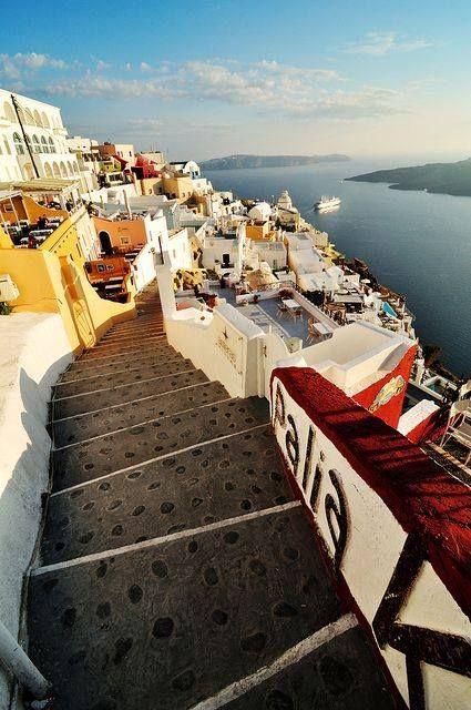 Fira City, Santorini Island