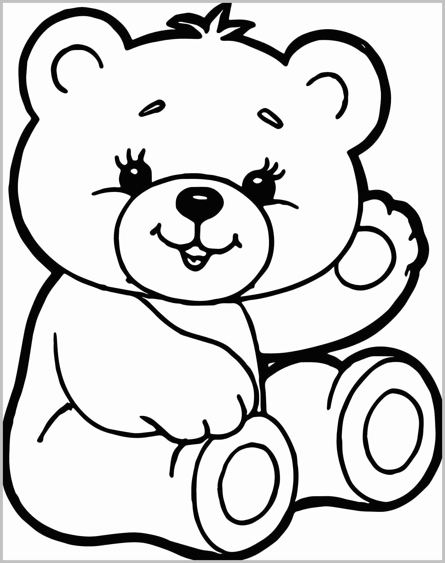 Super Cute Animal Coloring Pages For Kids In
