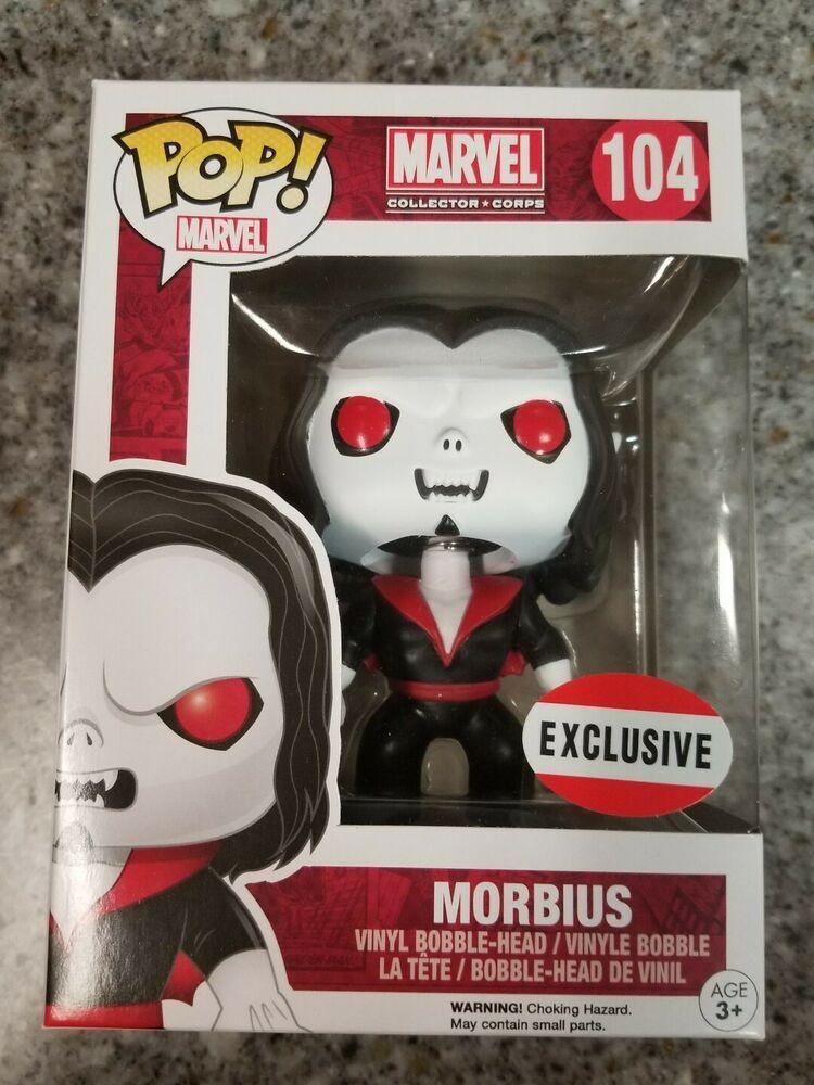 Zombie Morbius >> Funko Pop Marvel Zombie Morbius 105 Collector Corps