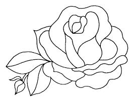 Dessin D Une Rose Recherche Google Quilts Pinterest Colorier