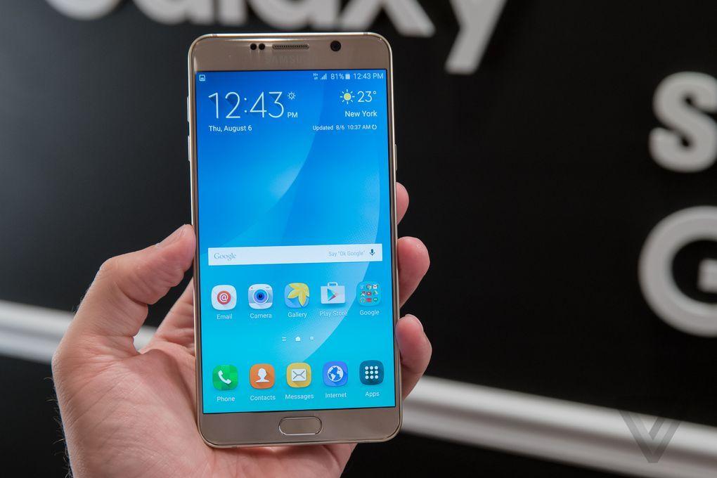 Samsung Galaxy Note 5 chính hãng giá 17,99 triệu đồng, bán ra từ 29/8