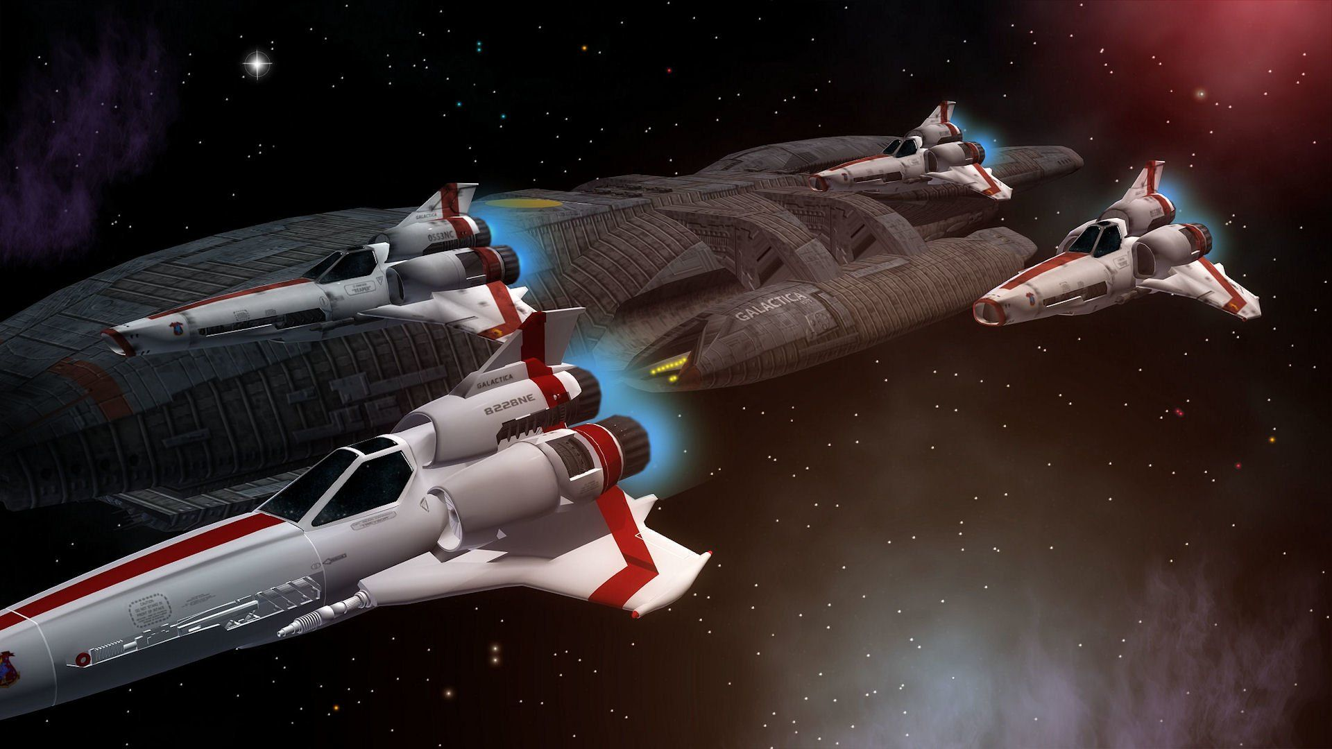 Sci Fi Battlestar Galactica Spaceship Space Wallpaper Battlestar