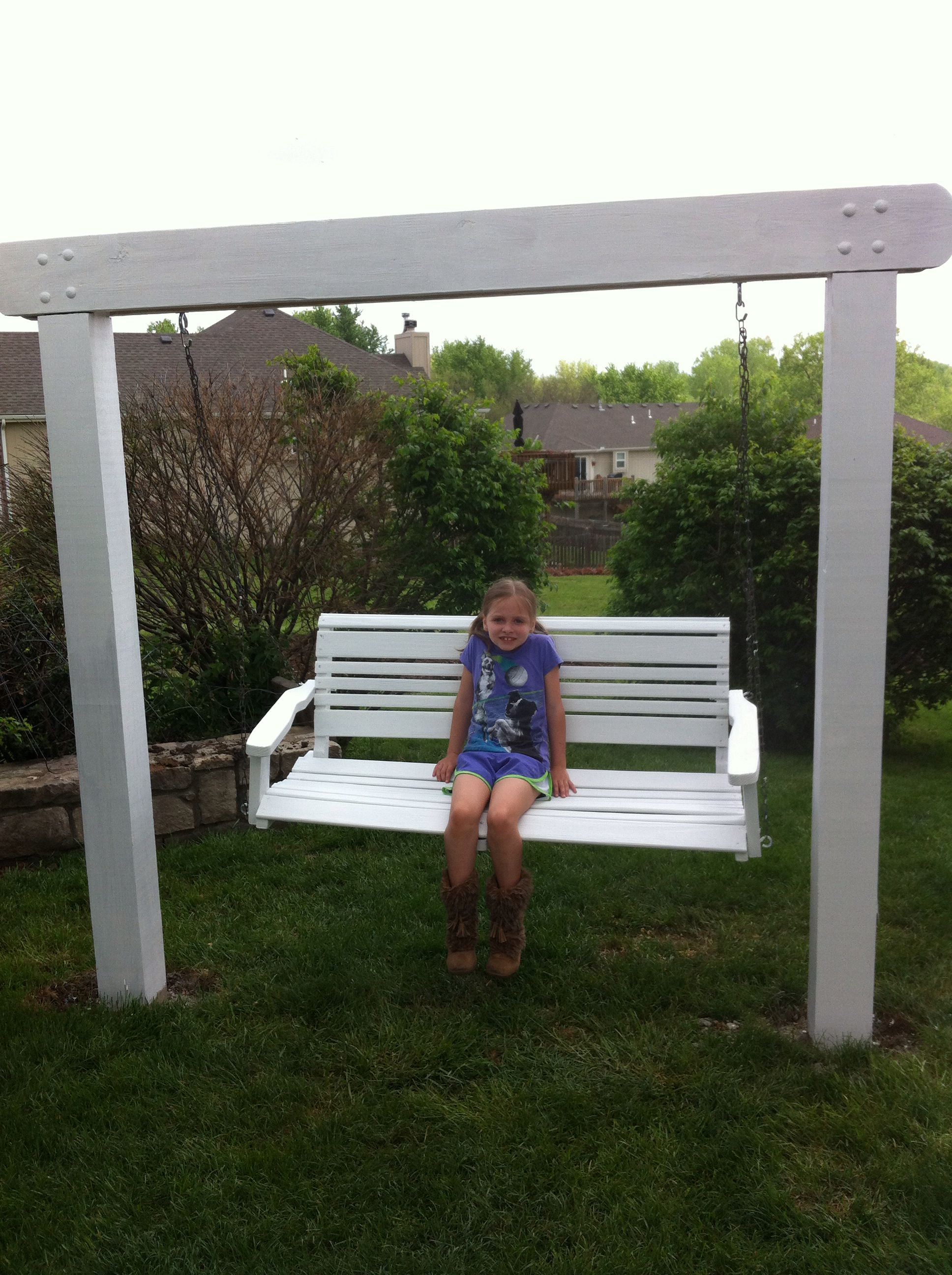 Front Porch Bench Swing