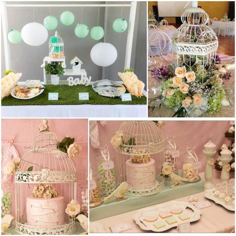 Decoracion de jaulas para baby shower baby shower - Baby shower decoracion ...