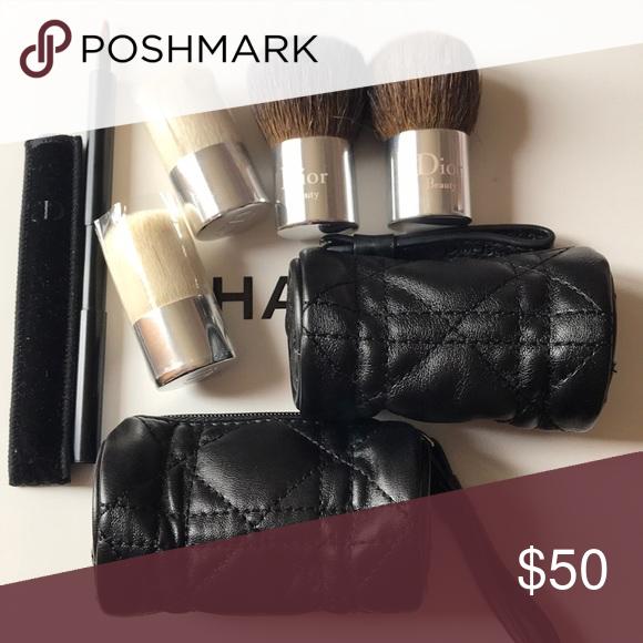 Dior Travel Brushes Bundle Bundle of 5 Dior brushes ☑️ 4