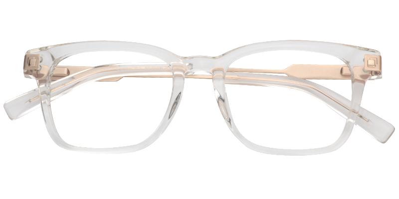 046641d0d9e Eunice Rectangle Crystal Eyeglasses Prescription Glasses 0460-01 ...