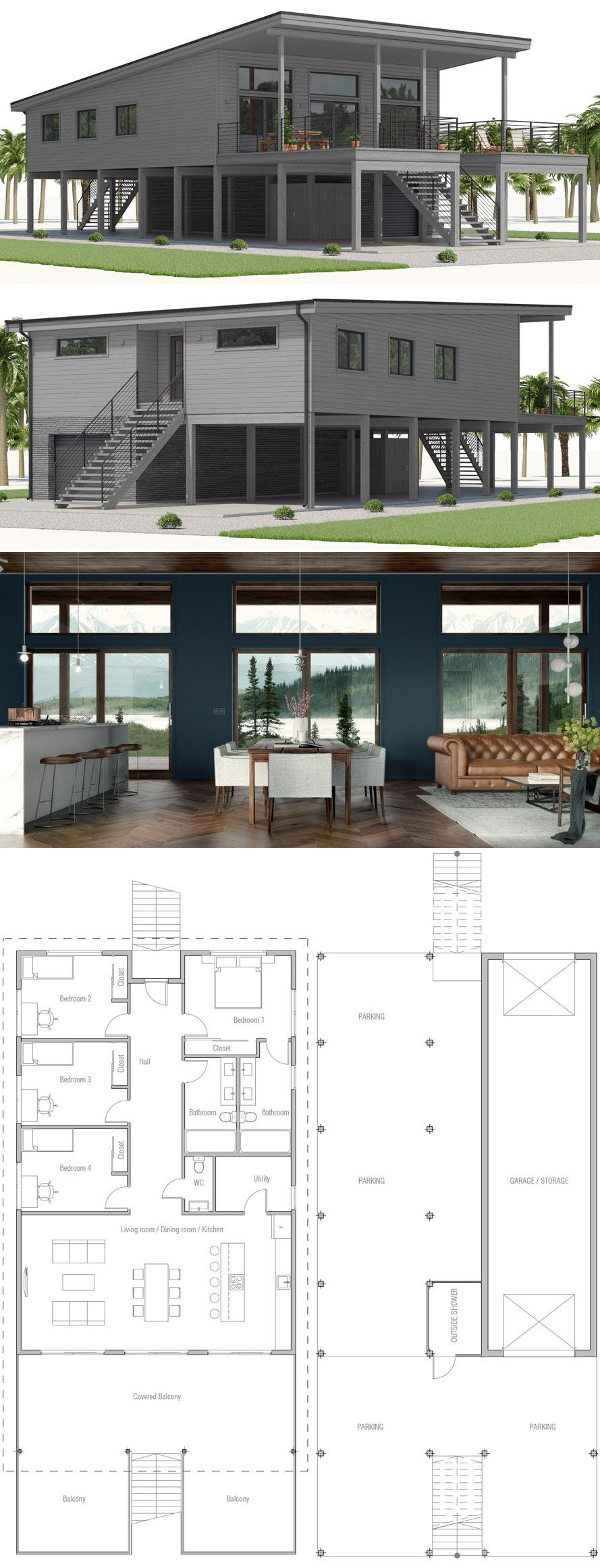 Small House Designs Disenos De Casas Casas Planos De Casas