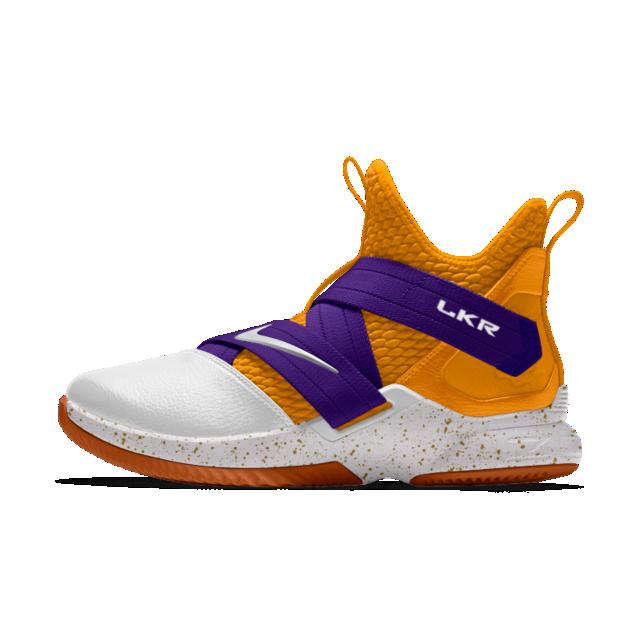 pretty nice f58cc fb273 The LeBron Soldier XII By You Custom Basketball Shoe | NIKE ...
