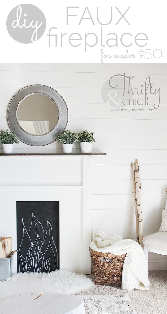 diy faux fireplace tutorial diy decor pinterest rh pinterest es