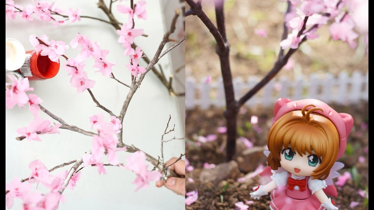 Diy How To Make Miniature Cherry Blossom Tree Diy Projects