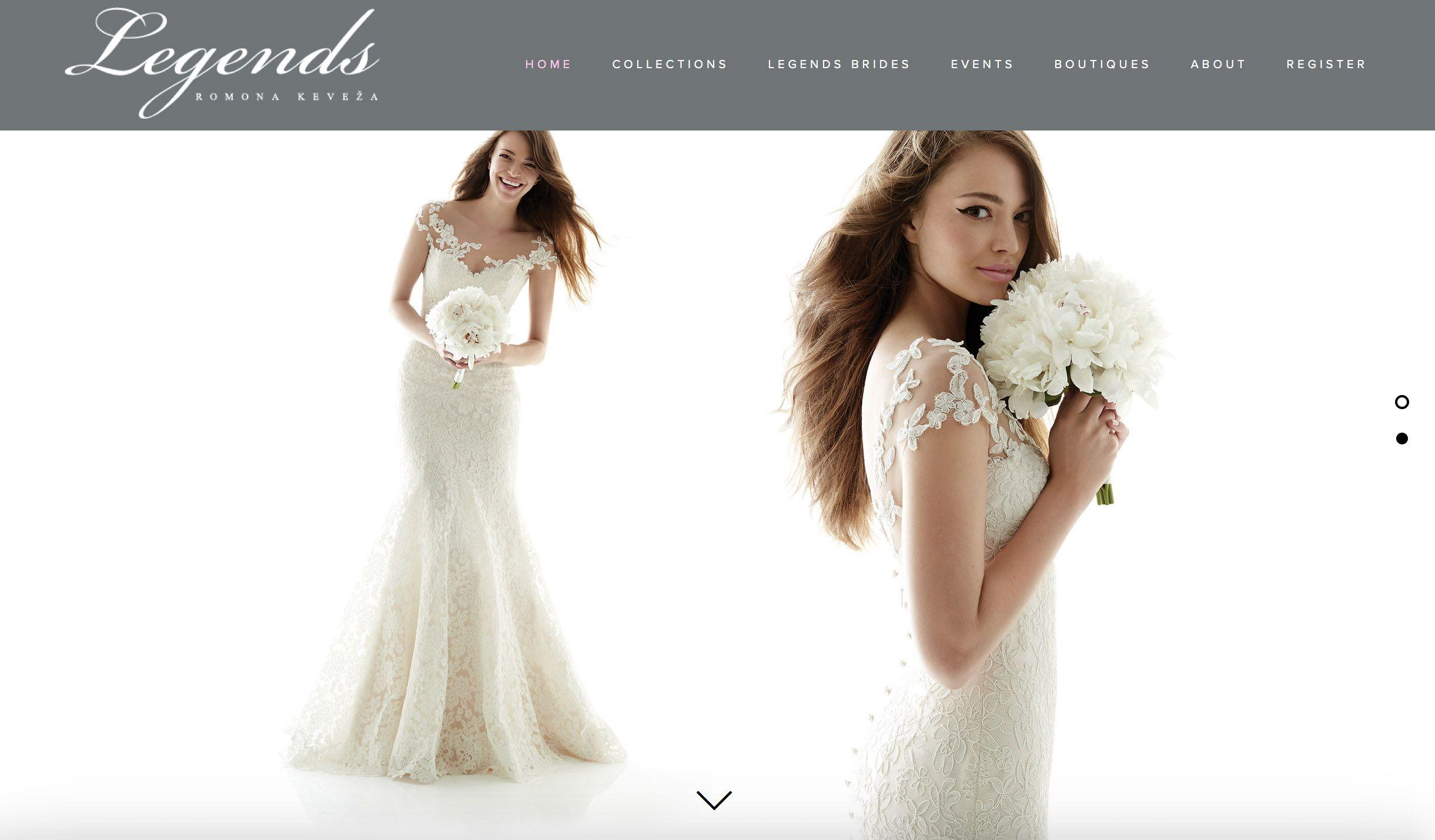 Legends by romono keveza wedding dress designer bridal wedding