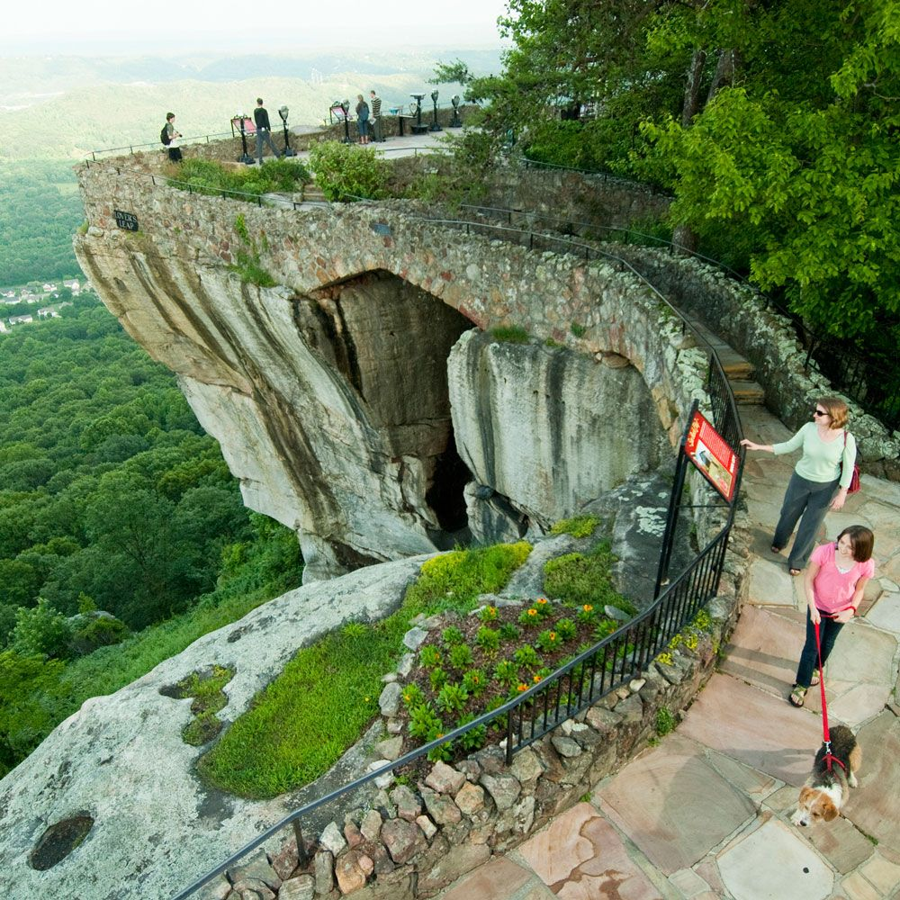 Rock City Gardens Is A Holiday Light In Lookout Mountain Plan Your Road Trip To Ga With Roadtrippers