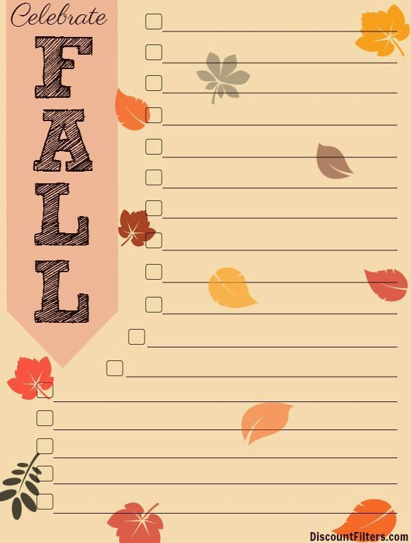 Fall Bucket List template #fallbucketlist Fall Bucket List template  #Bucket #fall #List #template #fallbucketlist