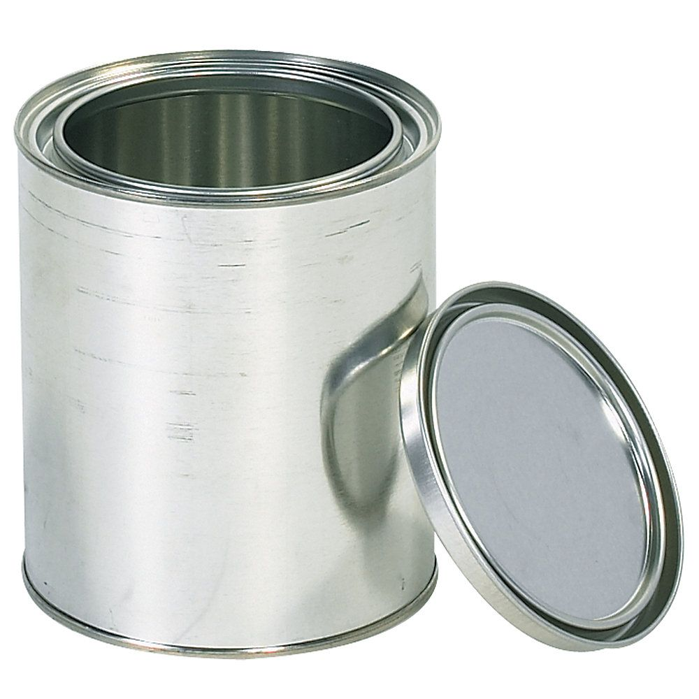 Office Depot Brand Paint Cans 1 Quart Silver Case Of 36 Paint Cans Canning Silver