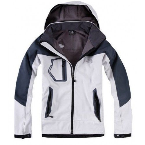 $103.60 North Face Windstopper Mens Jackets White Black