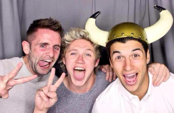 Niall with friends recently