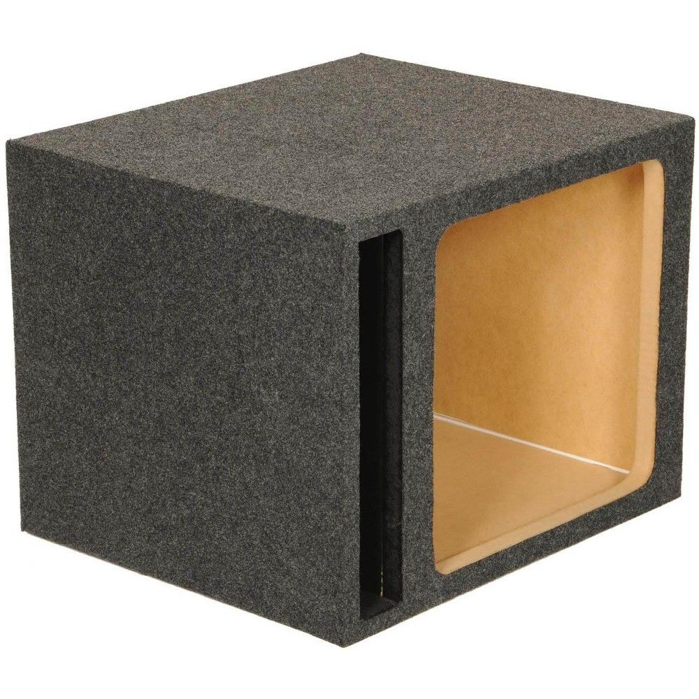 Q Power Hd115 15 Single Heavy Duty Vented Square Subwoofer Sub