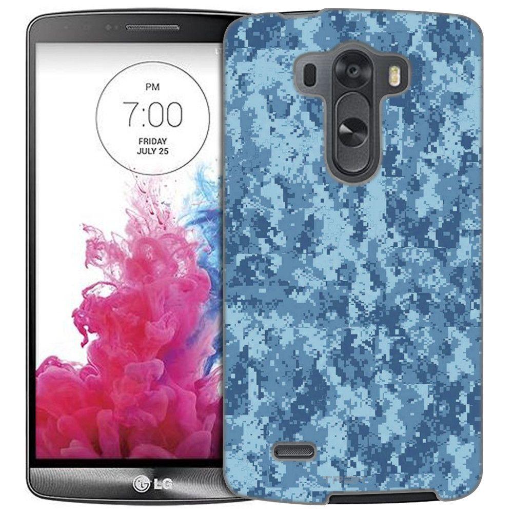 LG G3 Digital Camo Blue Slim Case