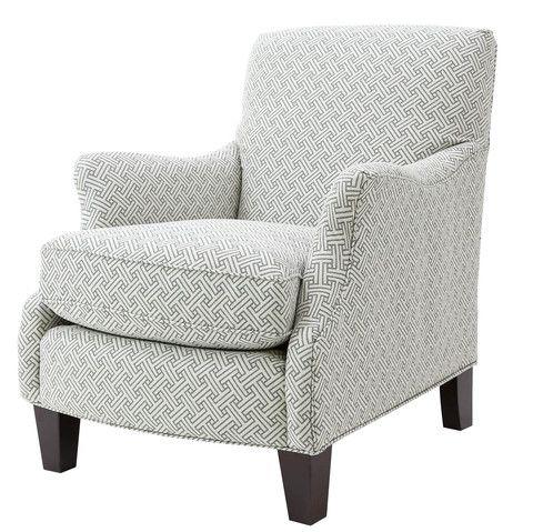 Michael Anthony Furniture Emalie Club Chair, Stencil Julep