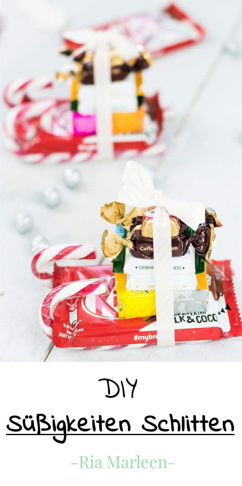 DIY Süßigkeiten Schlitten basteln - schnelle Last Minute ...