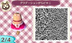 Animal Crossing: New Leaf: QR Codes- Clothing