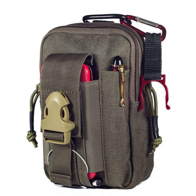 090d6c6582a1 Check current price OneTigris Portable Tactical MOLLE EDC Pouch Belt ...