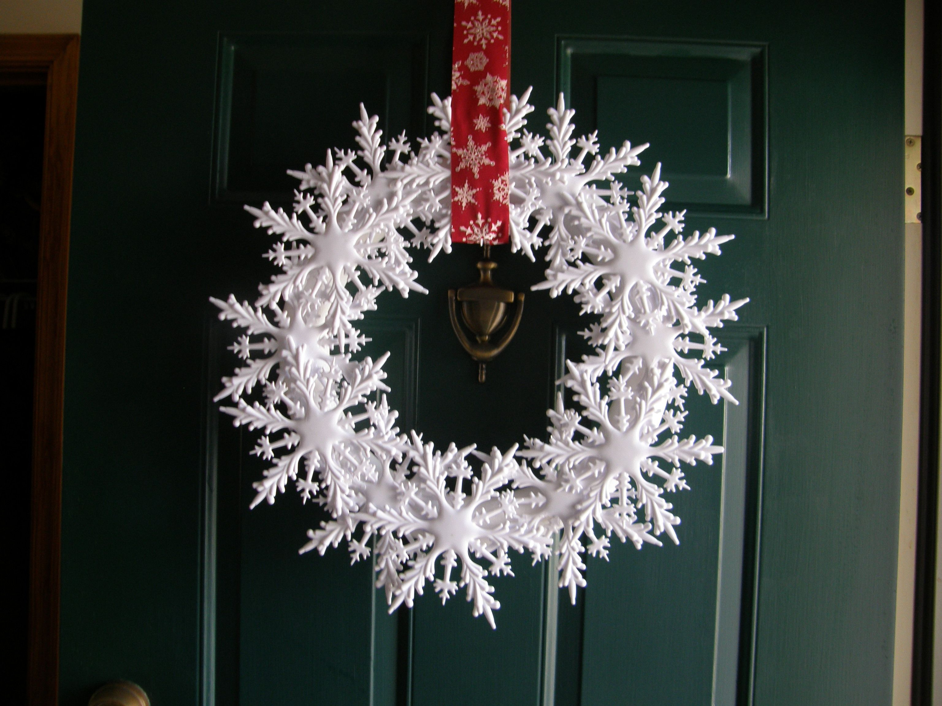 I made this one from Dollar tree ornaments and a foam