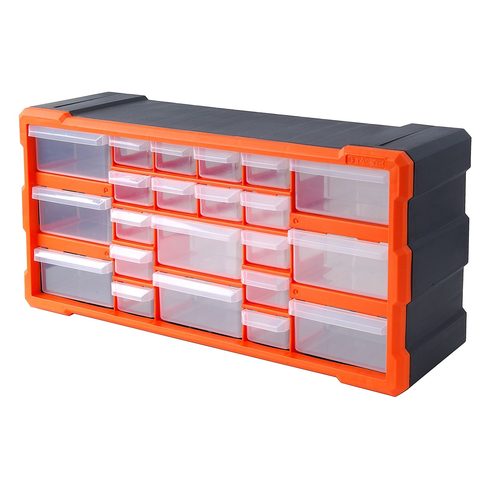 Tactix 22 Drawer Storage Bin Bunnings Warehouse Organizar