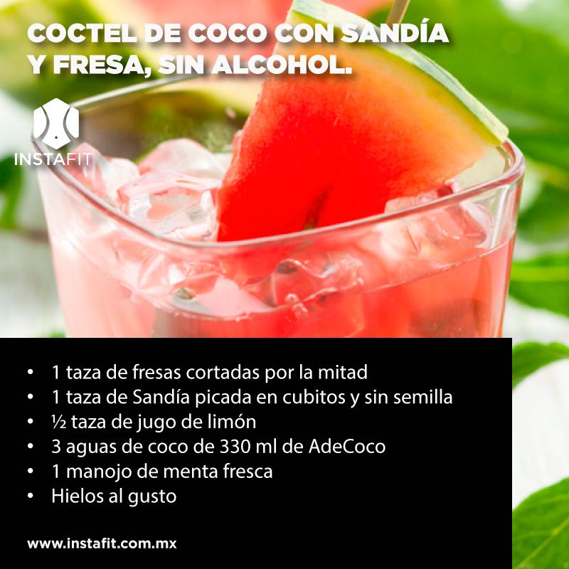 Disfruta esta deliciosa receta de un coctel refrescante sin necesidad de agregar alcohol mant n - Un mes sin beber alcohol ...