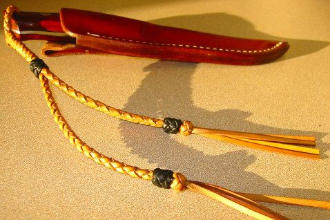 how to braid a lanyard for your knife