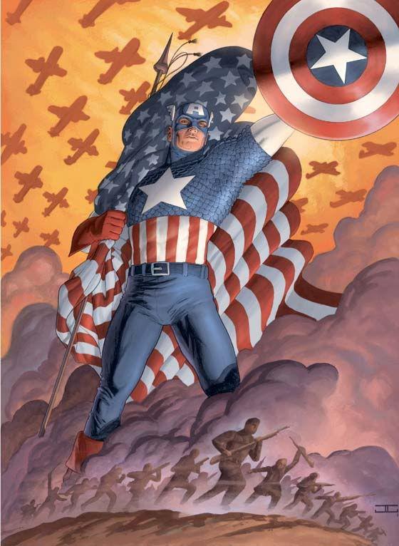 Resultado de imagem para captain america ww2 propaganda