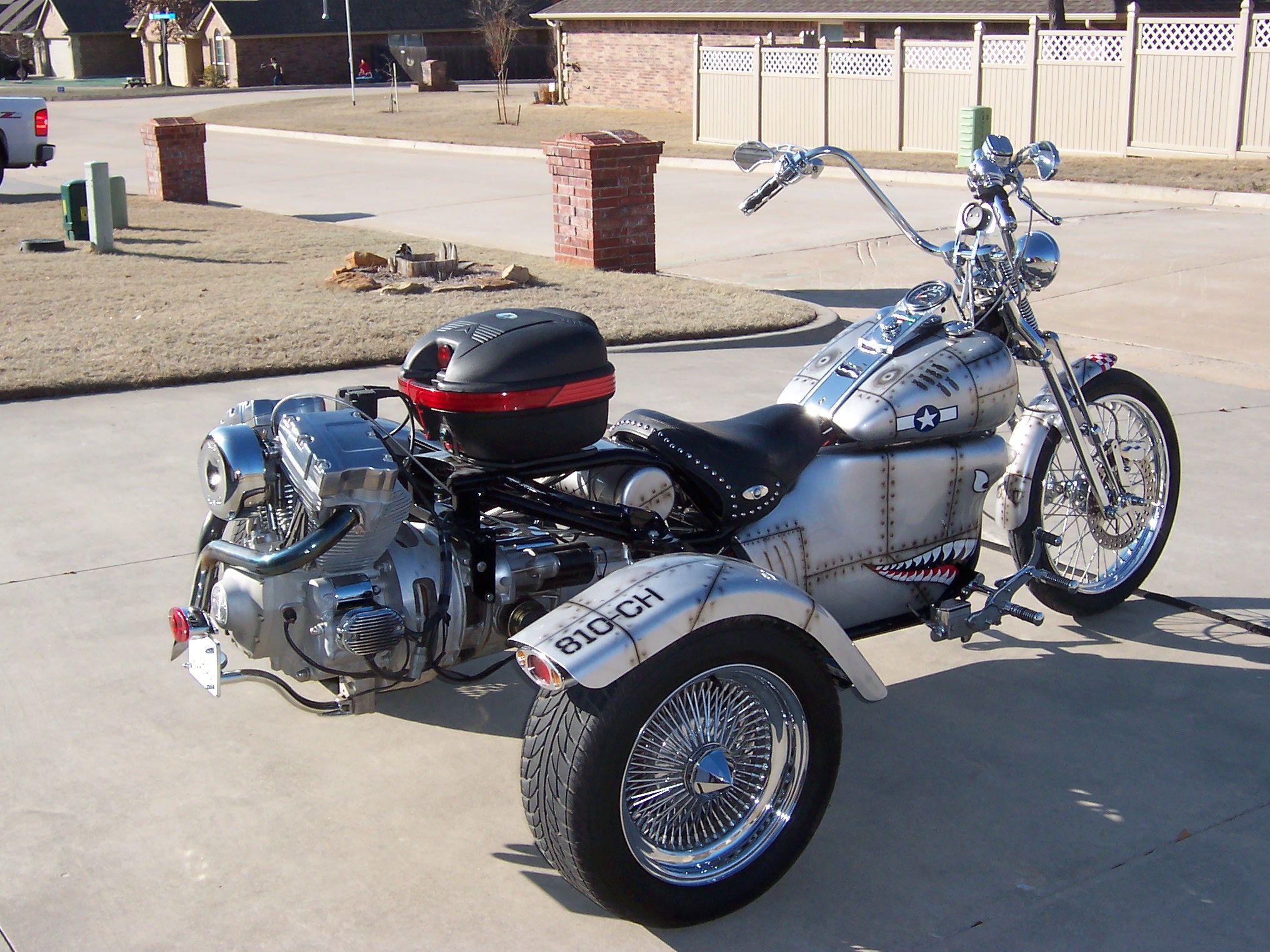 Harley davidson nova trike w auto trans