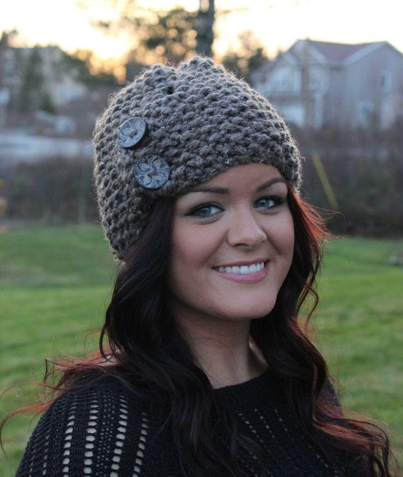 7416efd2cf0 Clever Little Toque by FreeTimeKnits on Etsy