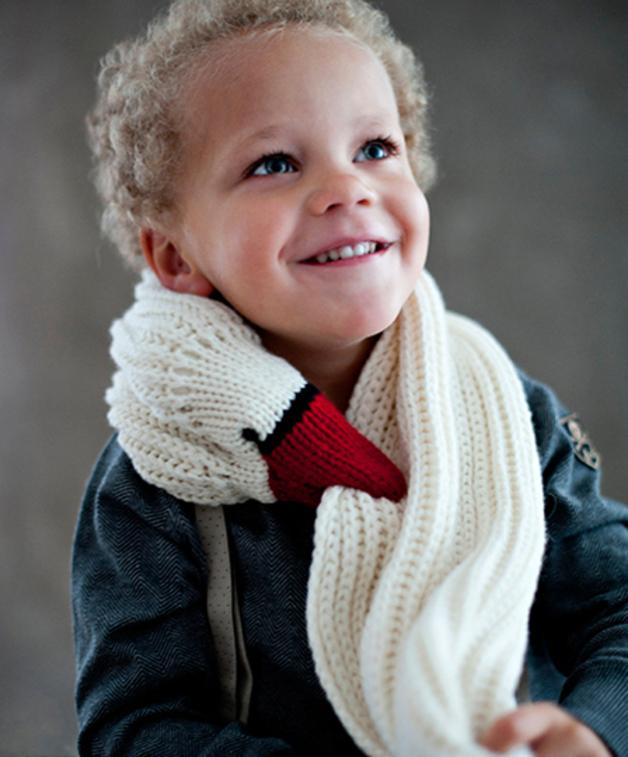 Gans Schal für Kinder | Gänse, Kindermode und Schals