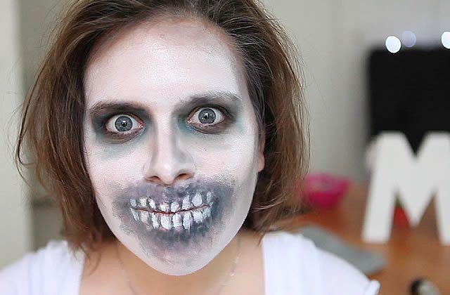 Le tuto Maquillage Zombie facile à réaliser pour Halloween