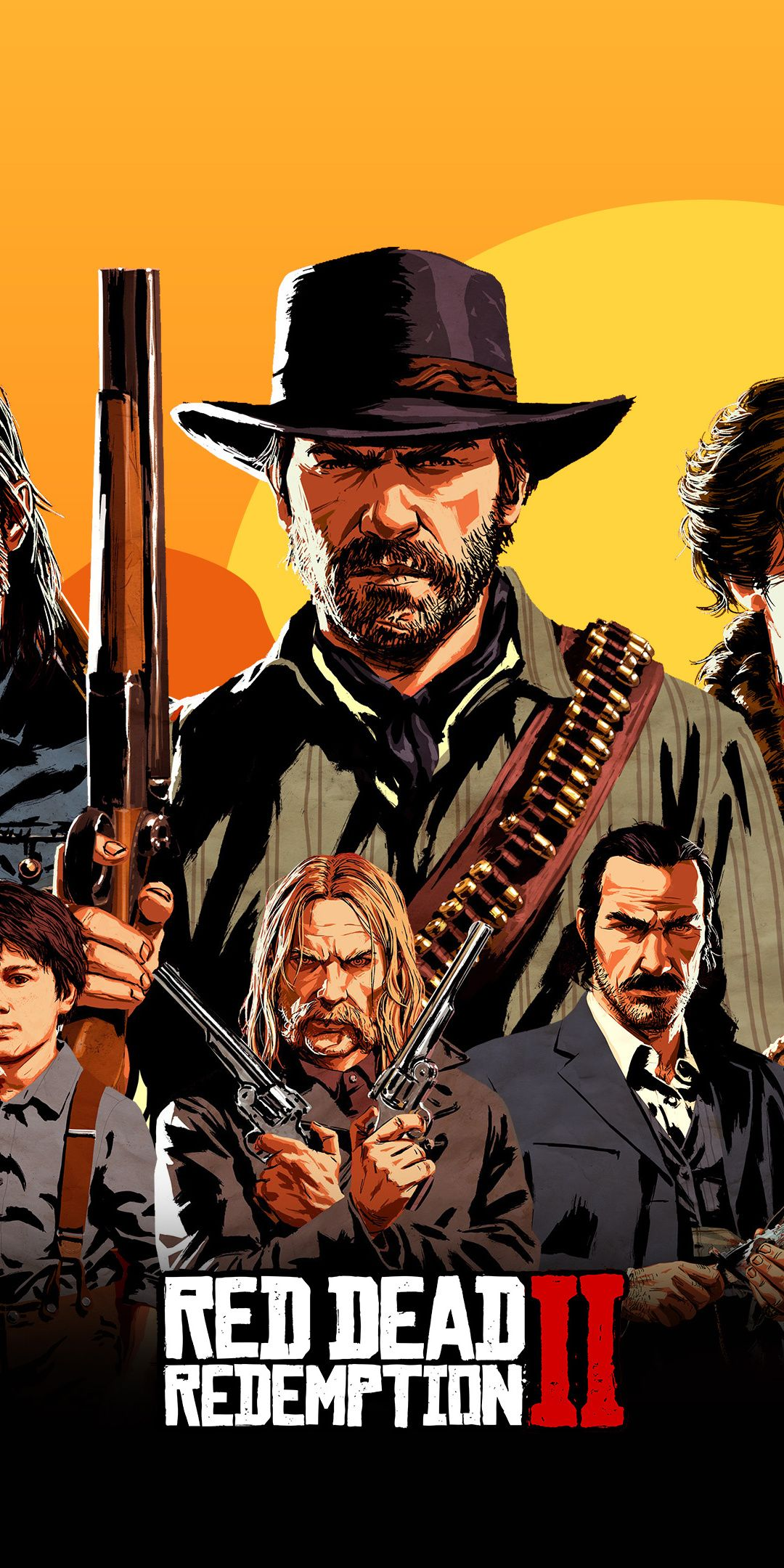 Game, video game, Red Dead Redemption 2, 2018, poster