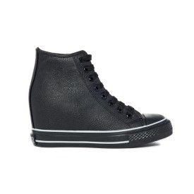 Sneakers allacciata con zeppa interna. - Scarpe d7421f20056
