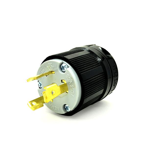30A 250V,2P 3W UL Listed Generator Power Locking NEMA L6