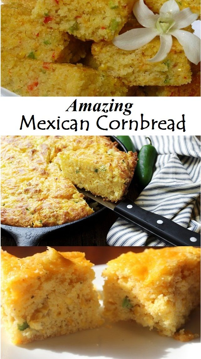 Photo of Amazing Mexican Cornbread