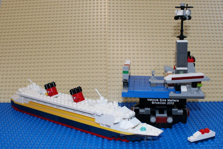 Mini Disney Wonder Dream Fantasy Or Magic Cruise Ships Disney Wonder Cruise Lego Cruise Ship Disney Fantasy Cruise [ jpg ]