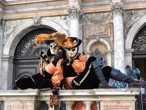 Cat masks, Carnival of Venice Stock Photos