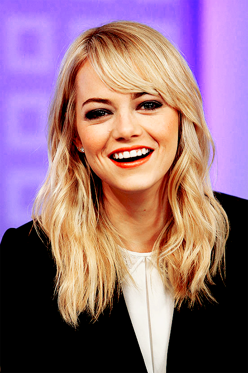 Emma Stone Mix People Hairstyles  Mix People