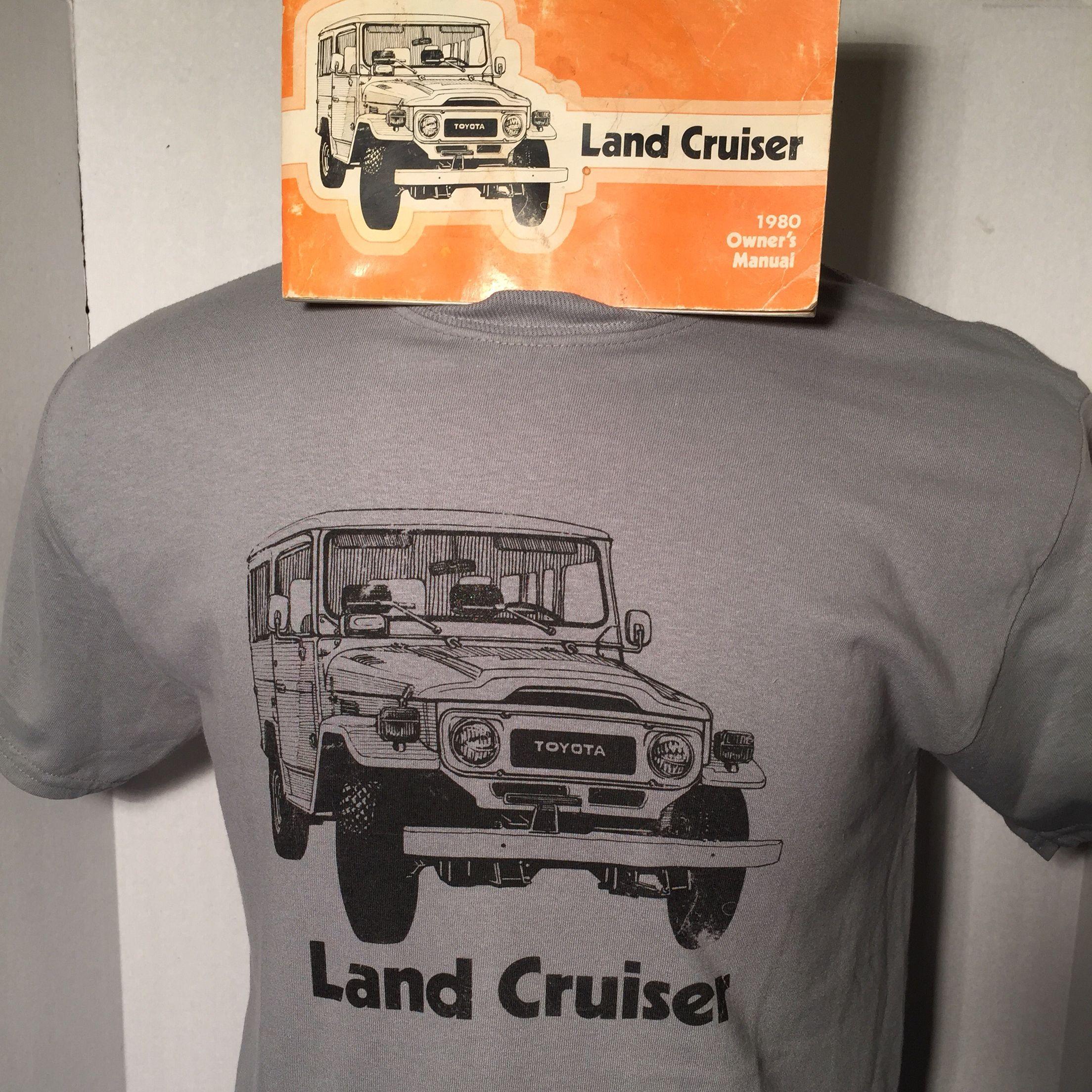 My Fj40 Distressed Owners Manual Tee Rjcruisers Com Toyota Land Cruiser Land Cruiser Fj40