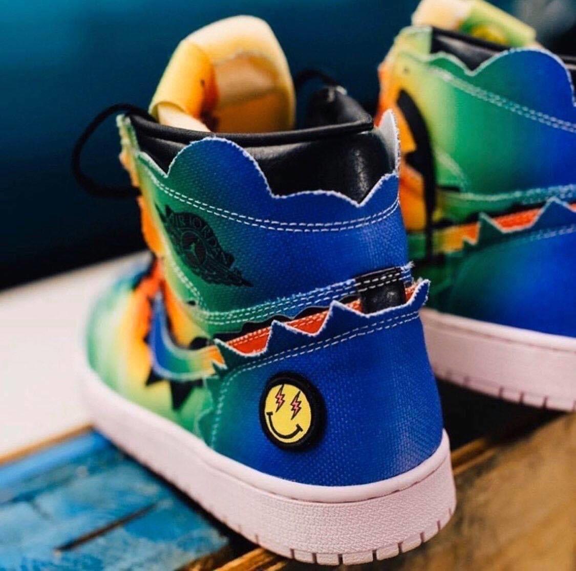 J Balvin X Nike Air Jordan 1 High Og En 2020 Jbalvin