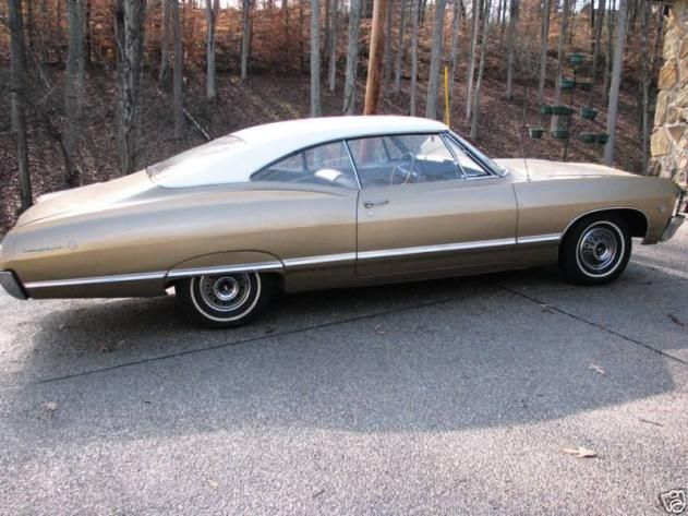 Autotrader Classics 1967 Chevrolet Impala Coupe Red 8 Cylinder