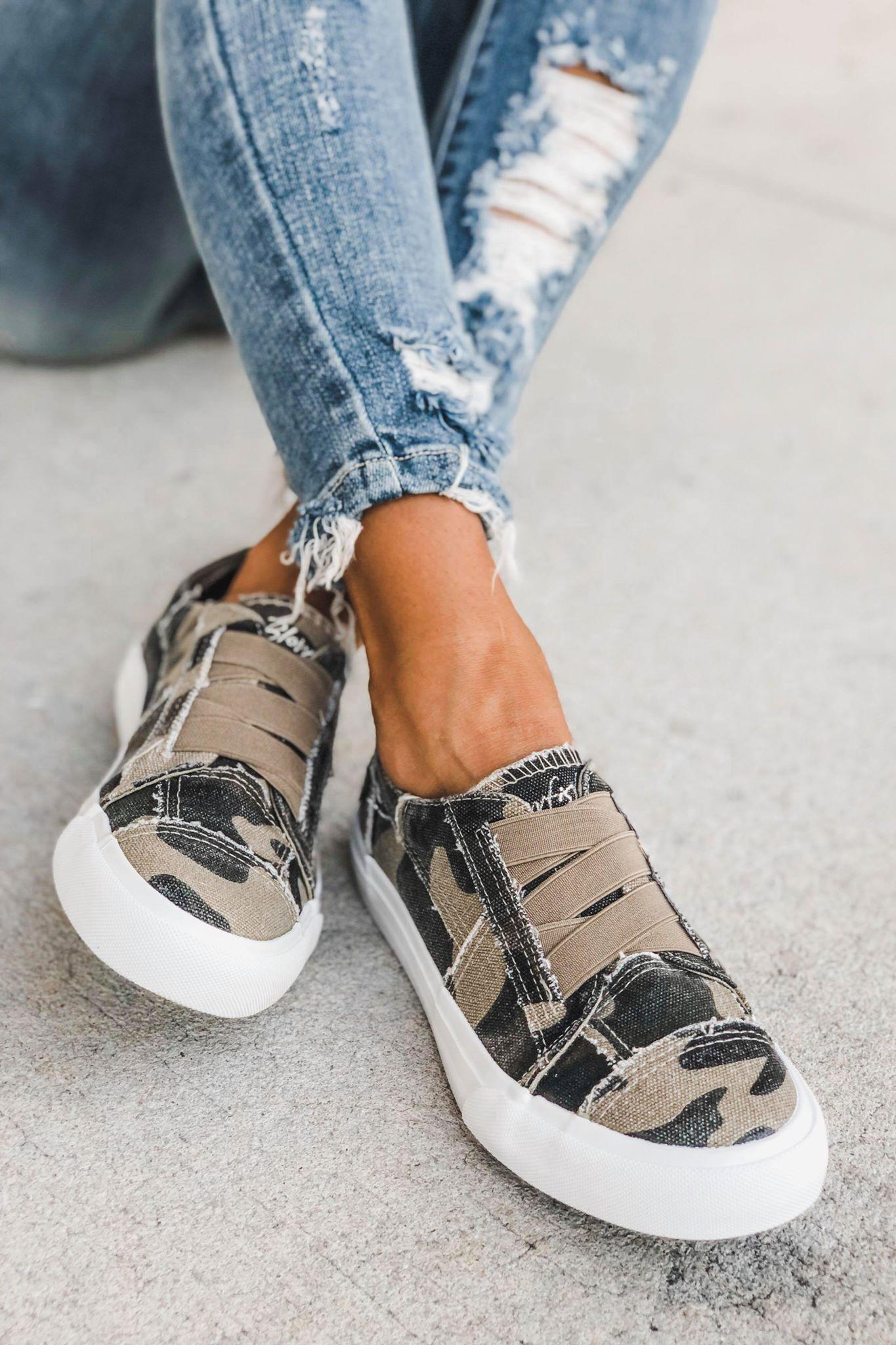 BLOWFISH Marley Slip on Sneaker (Camo