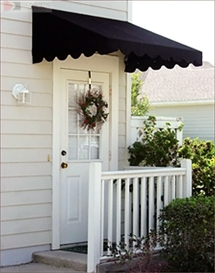 Door Canopies Sunbrella Awning Canvas for the garage door & diy window awning - Google Search | Windows | Pinterest | Window ...